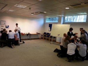 TAller agile en Foro Emprendedores