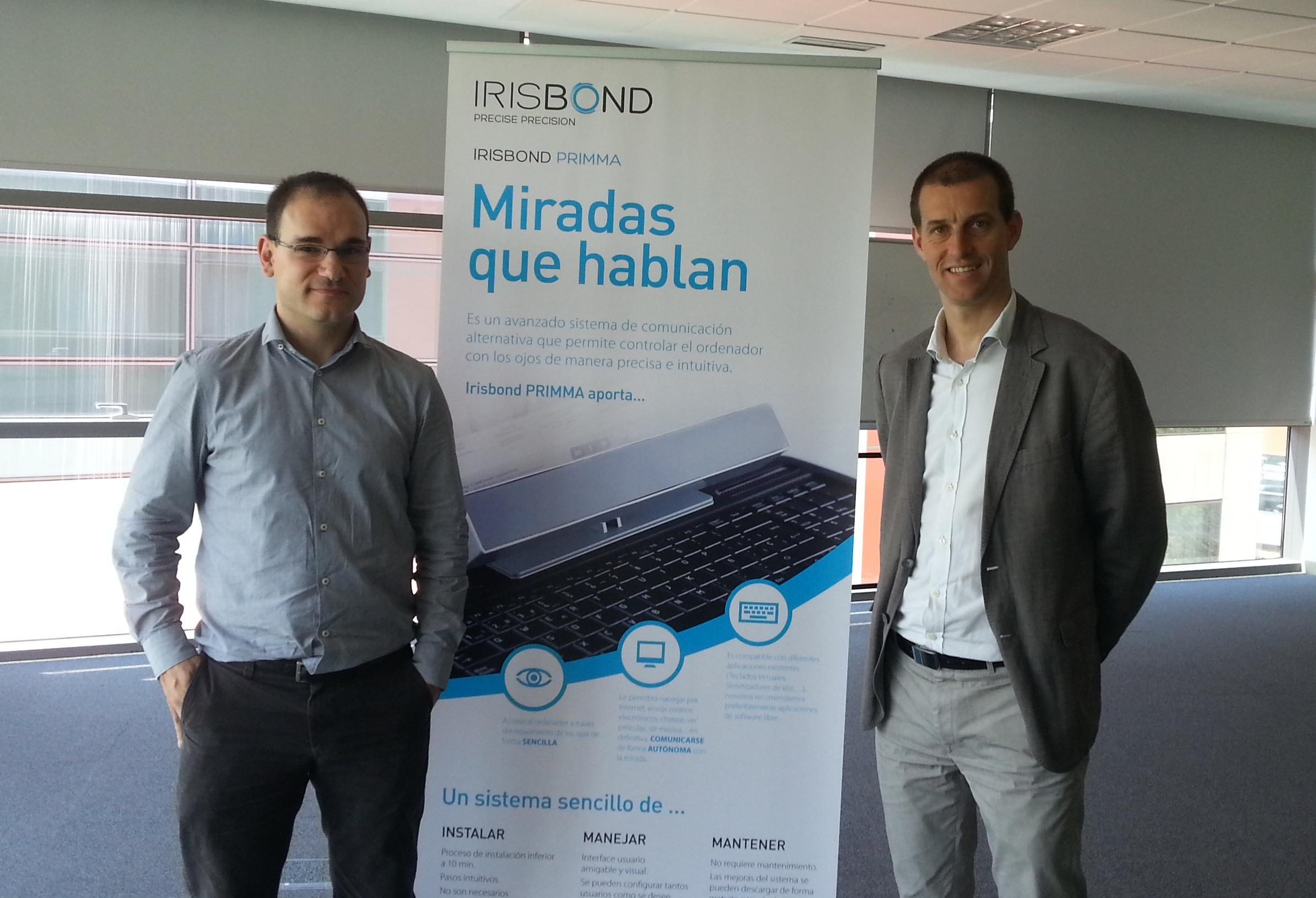 La startup Irisbond, ganadores de los premios Toribio Echevarria y Caixa Emprende XXI
