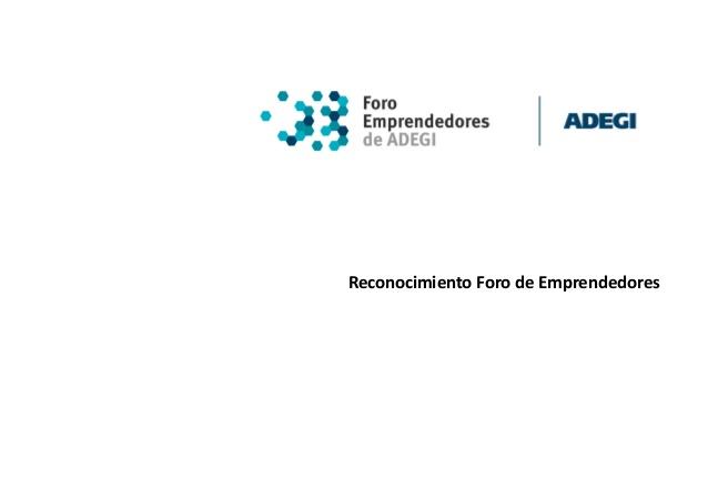 """El Foro de Emprendedores promueve el premio """"Nueva Empresa de Gipuzkoa""""."""