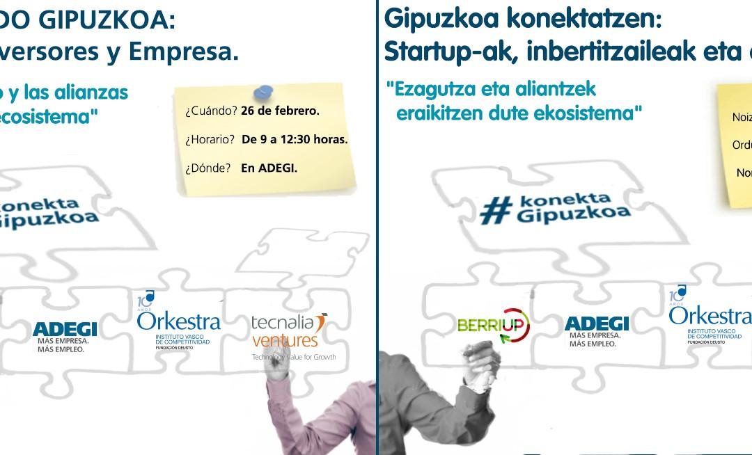 Crónica de la primera edición del evento #KonektaGipuzkoa: ¿Somos un buen ecosistema emprendedor?