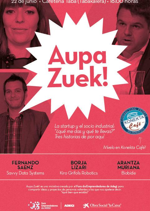 Encuentros Aupa Zuek!: Una nueva etapa…y una despedida.