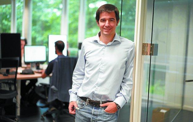 Odriozola: «Lo duro del inicio al crear una 'startup' se compensa con la ilusión» Entrevistas emprendedores