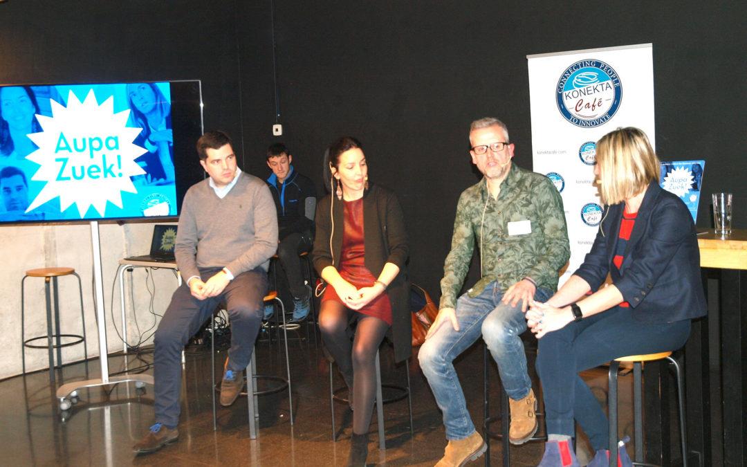 Crónica del 11º Encuentro #AupaZuek: «De trabajar en la gran empresa…a emprender en solitario»