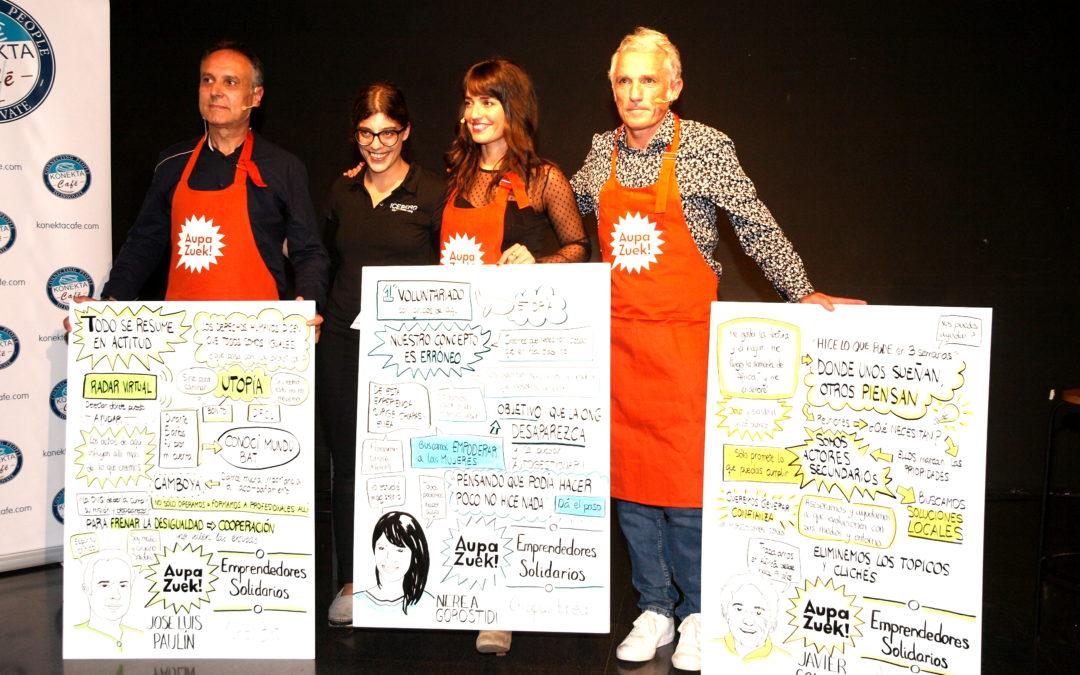 """Emprendedores Solidarios"" – Crónica 13º Encuentro #AupaZuek"