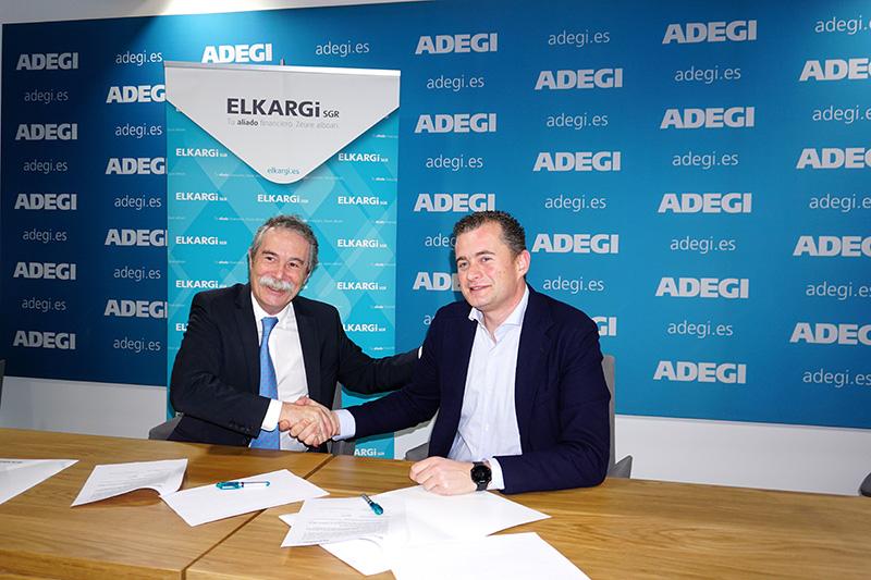Adegi y Elkargi aúnan esfuerzos para apoyar a los emprendedores de Gipuzkoa